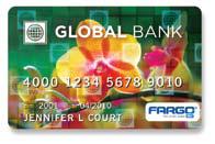 Finance card