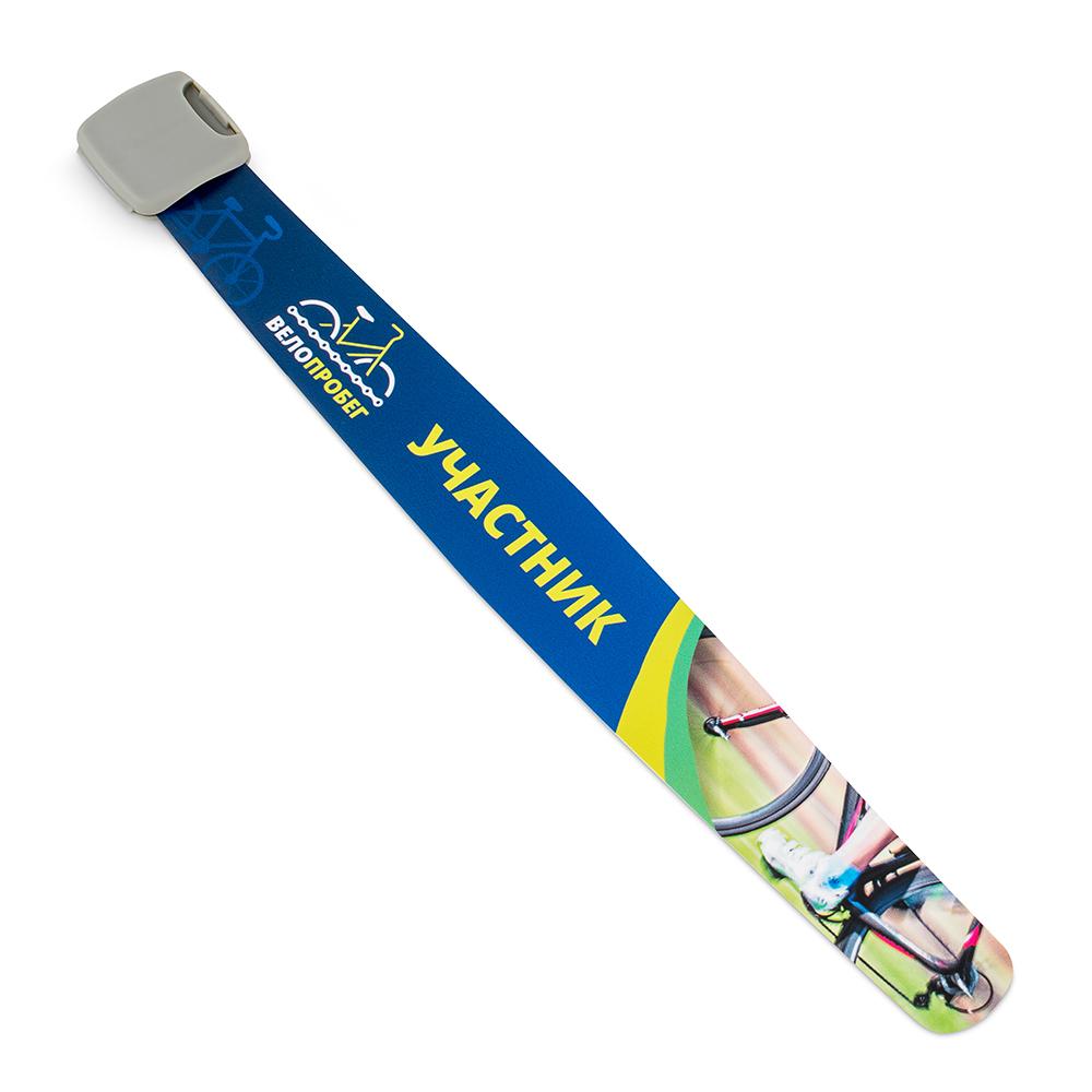 Многоразовый пластиковый браслет вариант 1
