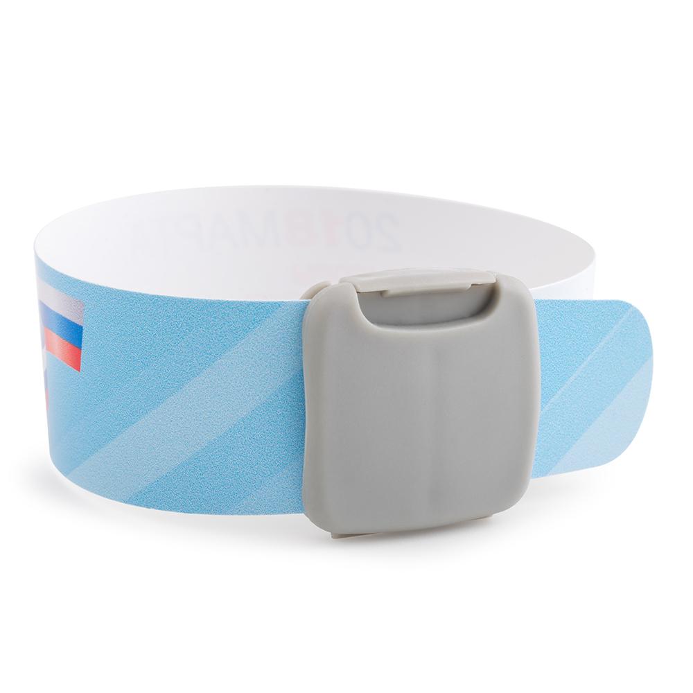Многоразовый пластиковый браслет